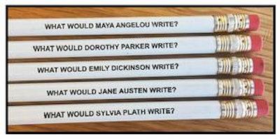 Famous Female Authors Pencil Set