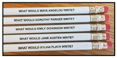Famous Female Authors Pencil Set