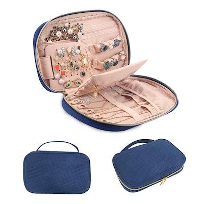 BAGSMART Travel Jewelry Storage Case