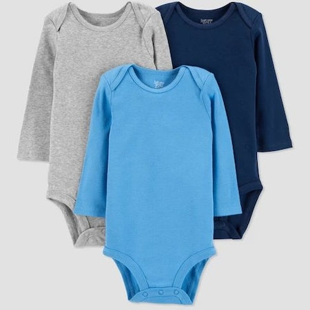 Baby Boys' 3pk Bodysuit - Just One You® (Made By Carter's)