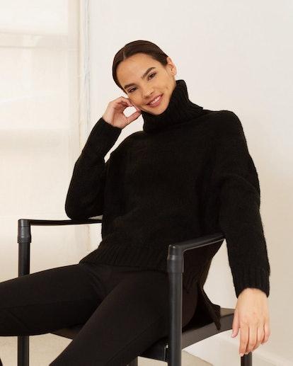Gretchen Oversized Turtleneck Sweater