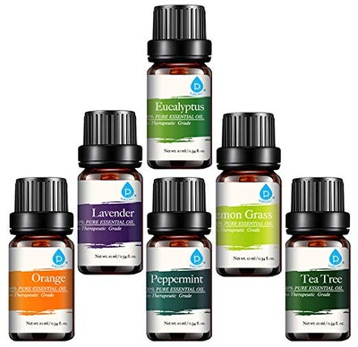 Pusonic Essential Aromatherapy Oils Gift Set