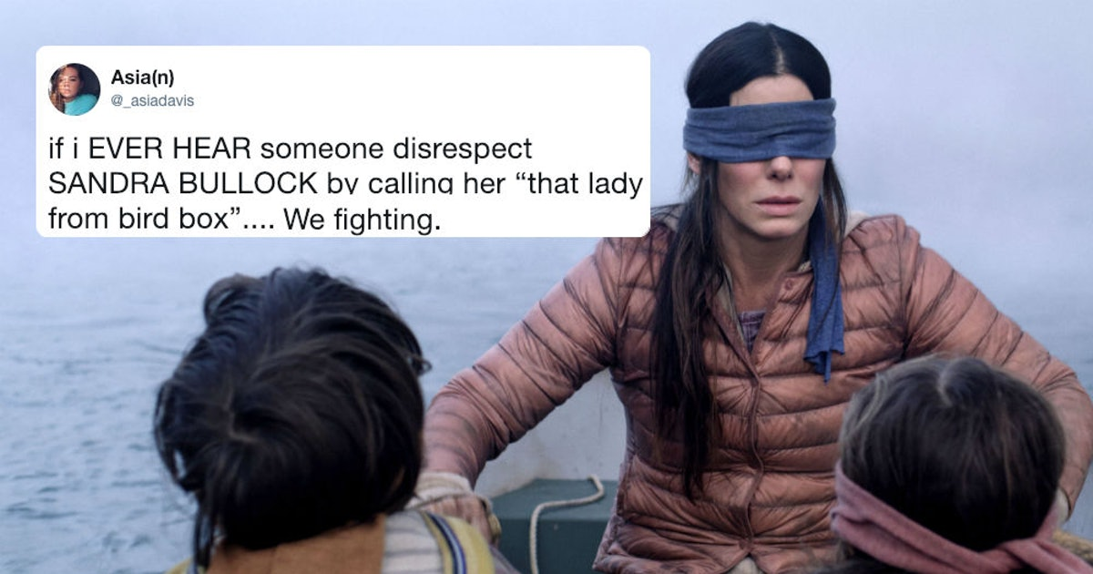 These Bird Box Memes Will Make You Feel Old Since Fans Don