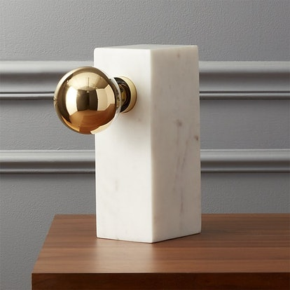 Orsay Marble Block Table Lamp