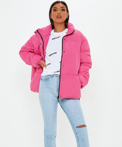 Pink Ultimate Oversized Jacket