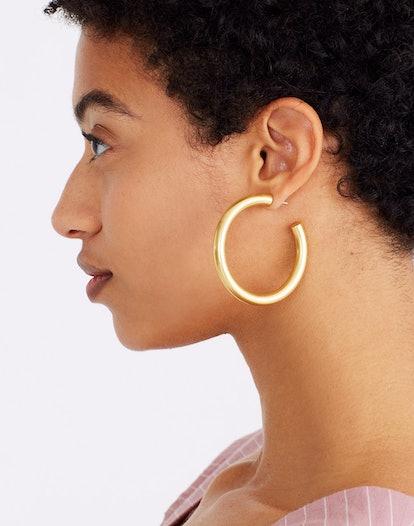 Chunky Oversized Hoop Earrings