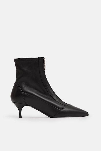 Tabitha Simmons Zippy Ankle Boot - Black