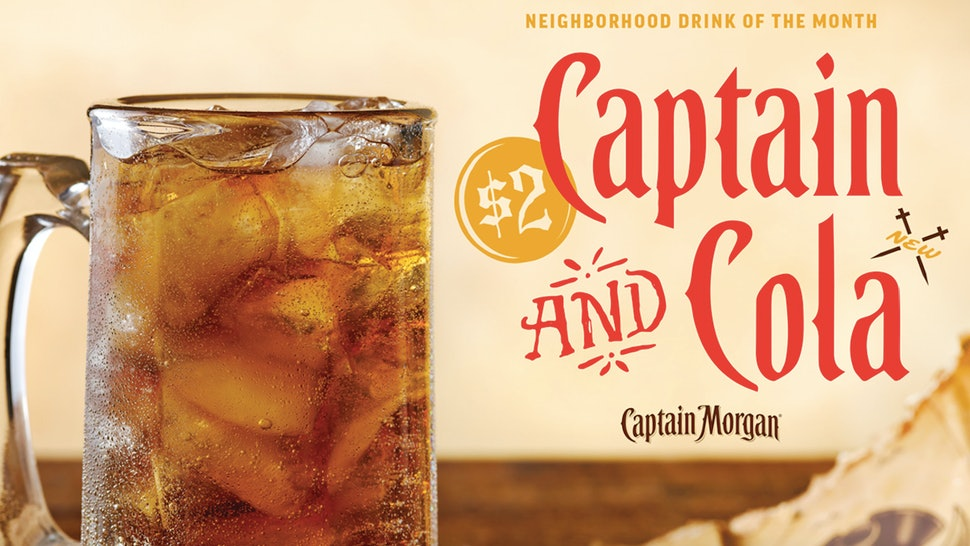 Applebees January 2019 Neighborhood Drink Of The Month Might Take You Back To Your College Days
