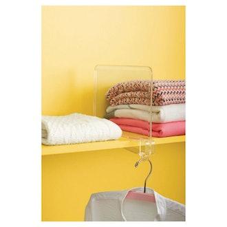 Room Essentials Storage Shelf Dividers Clear