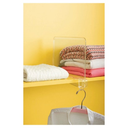 Room Essentials Storage Shelf Dividers Clear