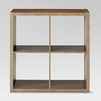"""4-Cube Organizer Shelf 13""""  Threshold"""