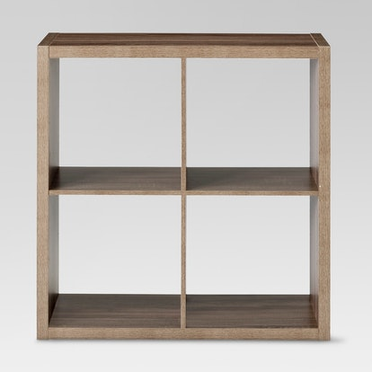 "4-Cube Organizer Shelf 13""  Threshold"