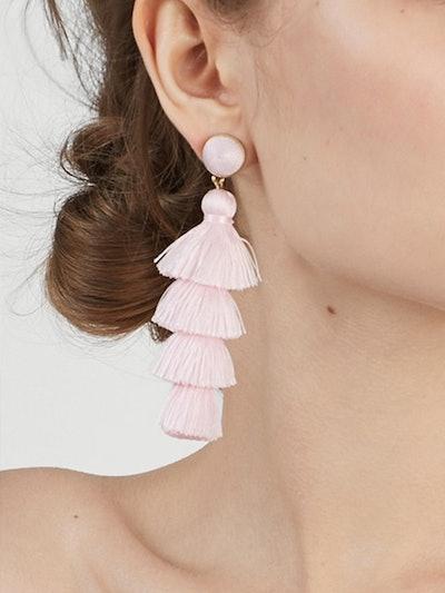 Gabriela Stud Tassel Earrings