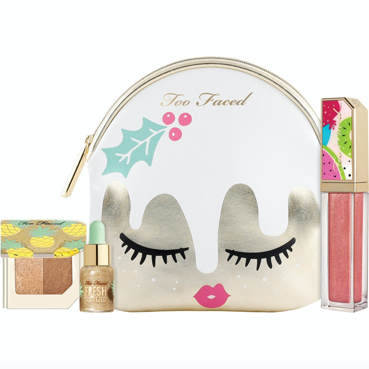 Too Faced Tutti Frutti Christmas Fruit Cake Makeup Collection