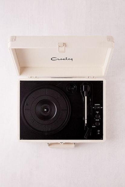 Crosley UO Exclusive Cream Canvas Cruiser Bluetooth Record Player