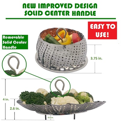 Kitchen Deluxe Veggie Steamer Basket
