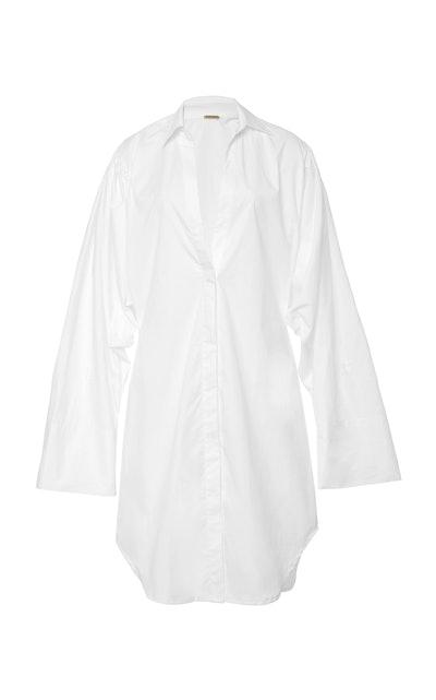 Monrovia Cotton Poplin Shirt Dress