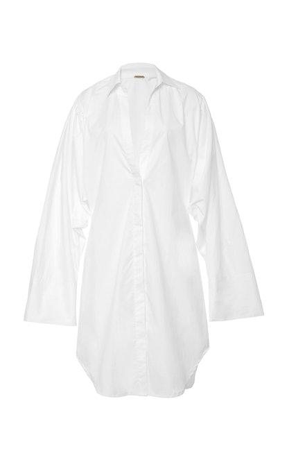 Monrovia Cotton Poplin Shirt Dress