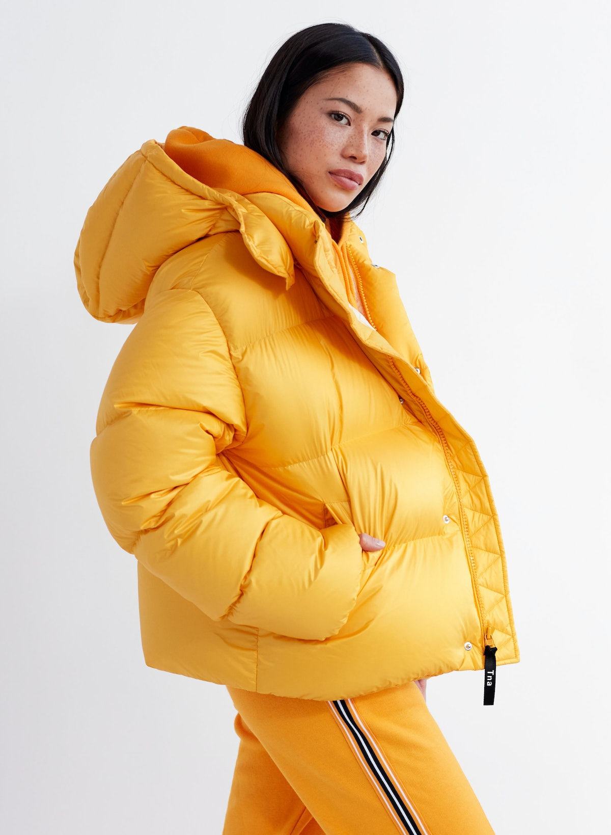 The Mega Puff Shorty Cropped, Oversized, Goose-Down Puffer Jacket