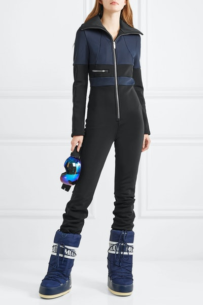 Grazzia Color-Block Stretch-Shell Ski Suit