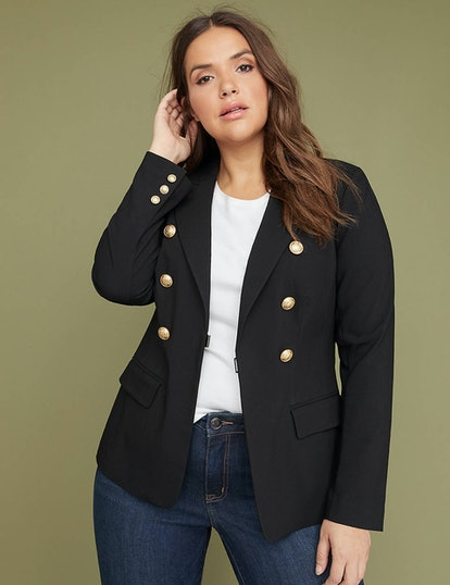 Double-Breasted Sexy Stretch Bryant Blazer