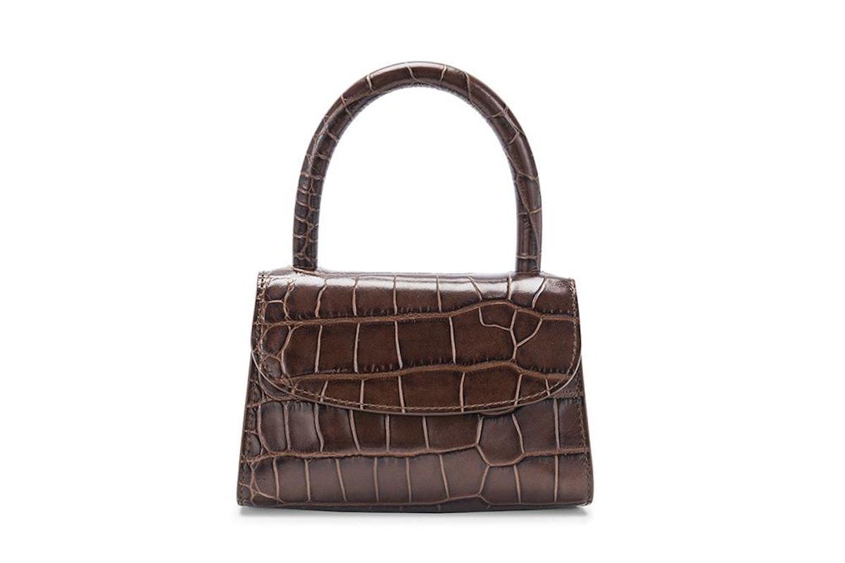 Nutella Croco Embossed Mini Bag