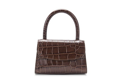 Nutella Croco Embossed Mini Bag