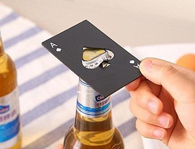 Sokos Poker Card Shaped Bottle Opener