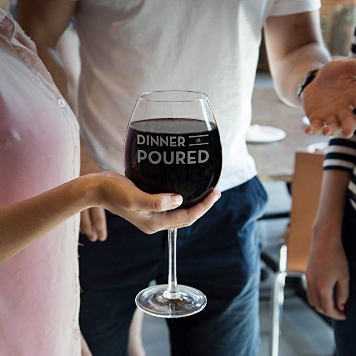 Big Betty XL Premium Jumbo Wine Glass