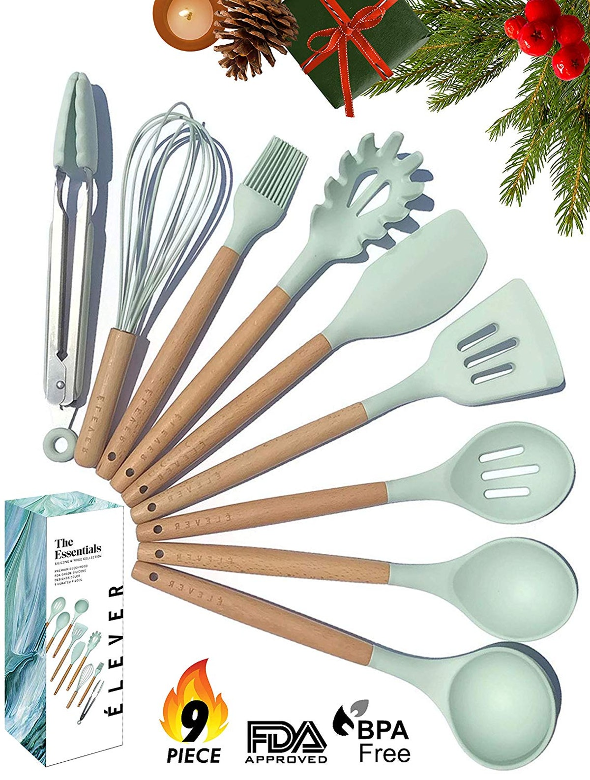 Silicone Cooking Utensils for Non-stick Cookware