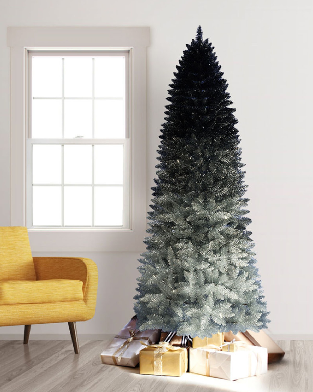 Silver Shadow Ombre Tree