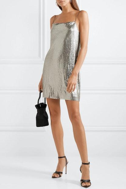 Harmony Chainmail Mini Dress