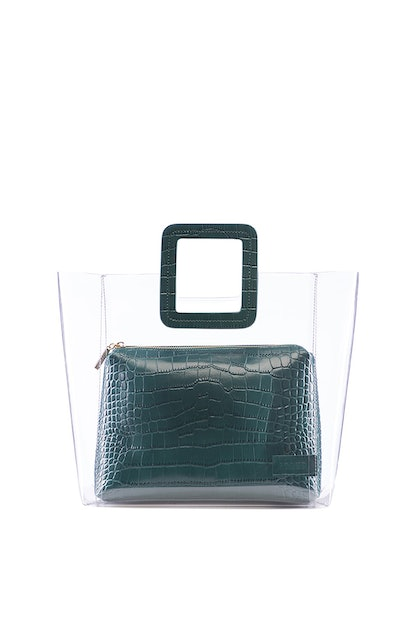 Shirley Bag Jade Croc Embossed