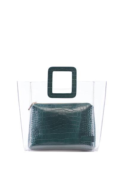 Shirley Bag Jade Croc Embossed