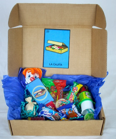 Small Cajita (Small Mexican Candy Box) Four Month Subscription