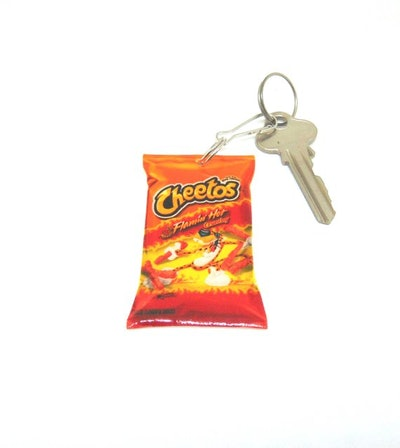 Hot Cheetos Keychain