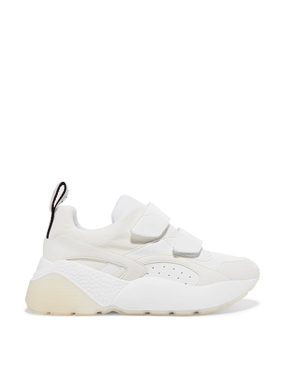 Eclypse Faux-Leather Suede And Neoprene Sneakers