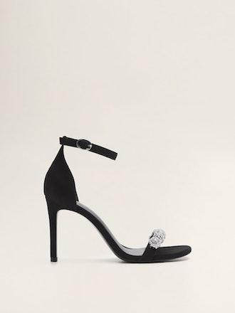 Crystal Strap Sandals