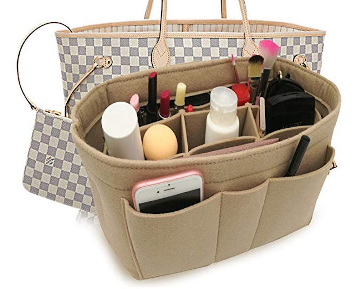 Lexsion Felt Insert Bag Organizer Bag In Bag For Handbag Purse Organizer Fits Speedy Neverfull