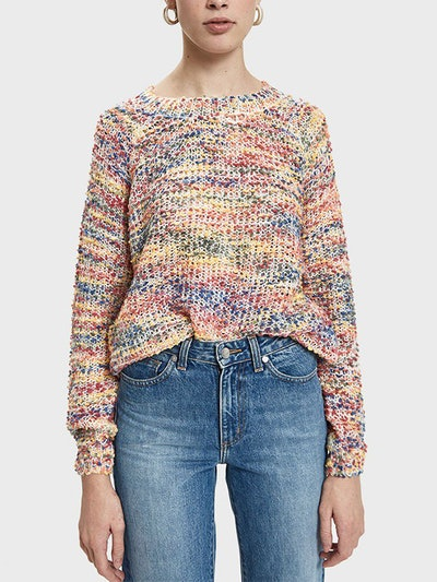 Eleanor Multi Colored Knit Sweater