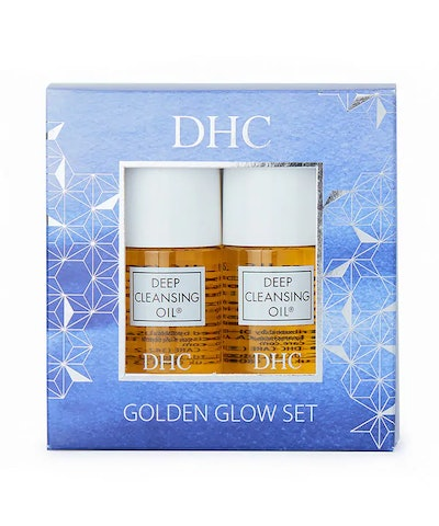 DHC Golden Glow Cleansing Set