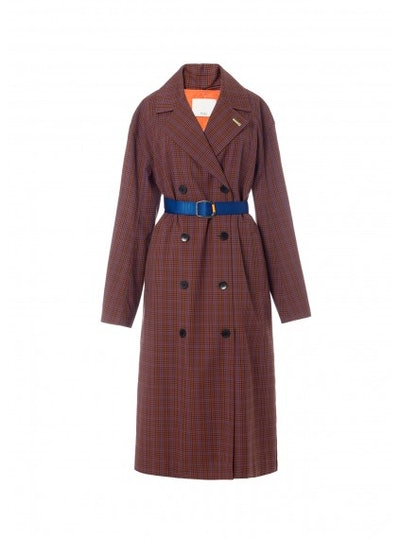 Tibi Menswear Oversized Trench with Removable Lining