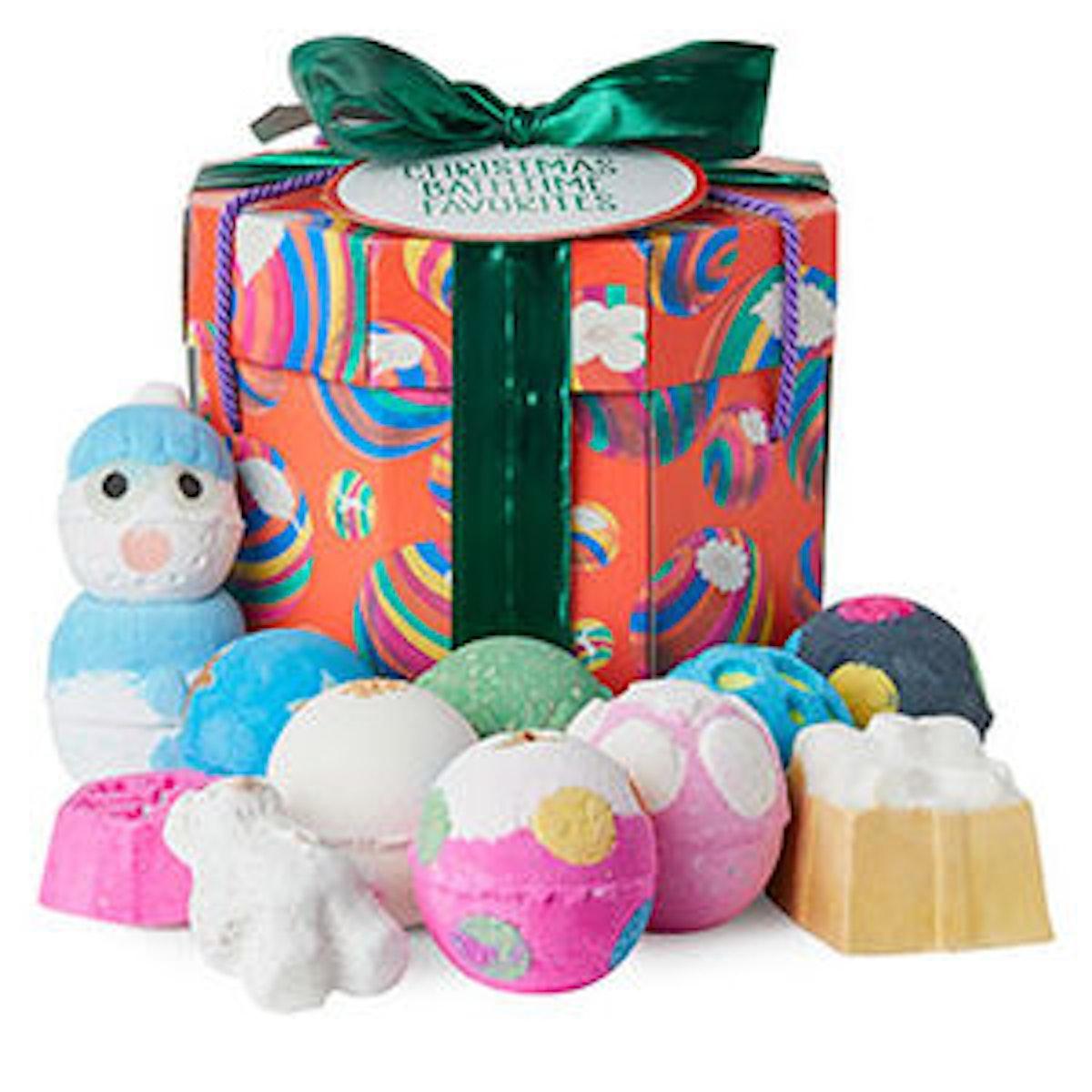 Lush Christmas Bathtime Favourites