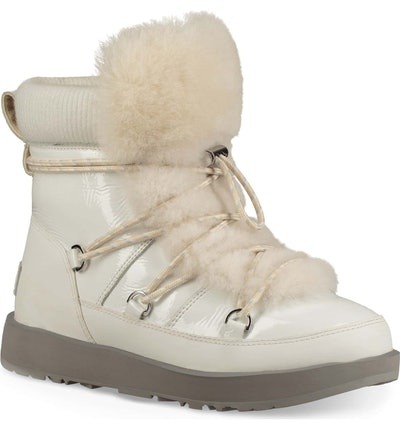 Highland Genuine Shearling Waterproof Bootie