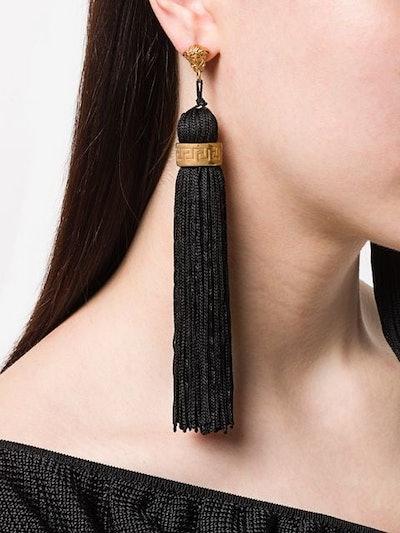 Medusa Tassel Drop Earrings