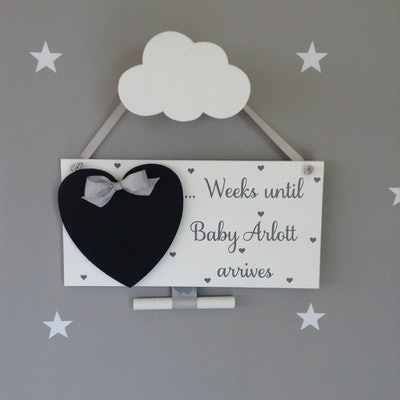 Baby Countdown Sign