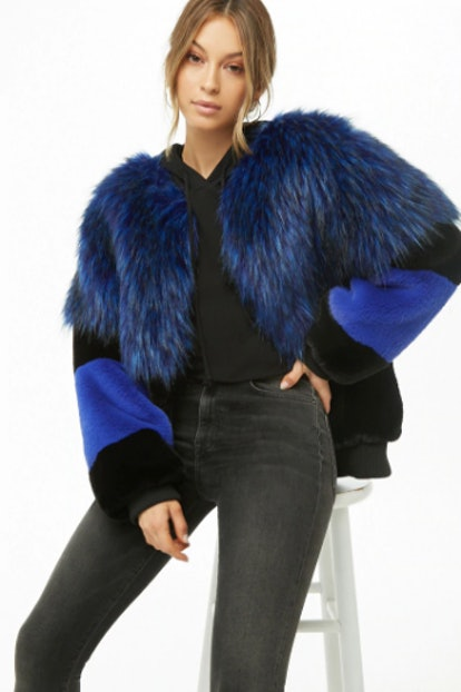 SHACI Shaggy Faux Fur Jacket