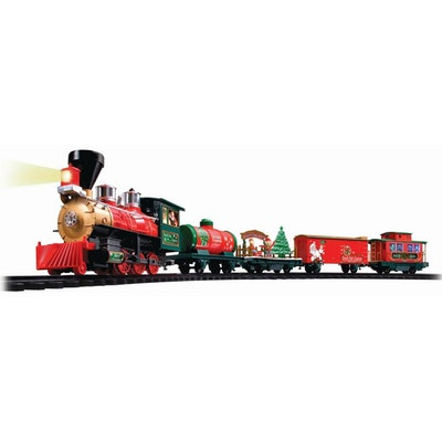 Battery Operated Wireless Remote Control North Pole Express Christmas Train
