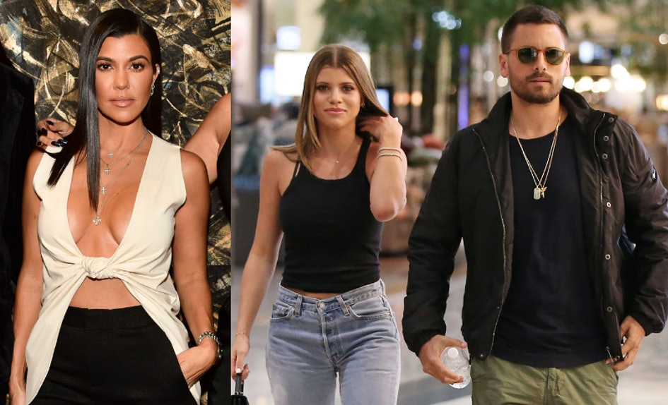 sofia richie joining scott disick kourtney kardashians vacation hints theyre getting along