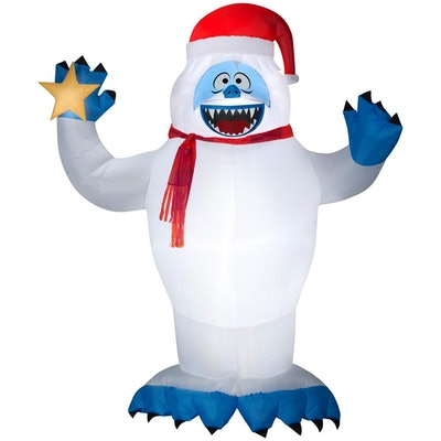 Rudolph 8 Ft Pre-Lit Inflatable Bumble